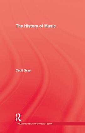 History Of Music: 1st Edition (Paperback) book cover