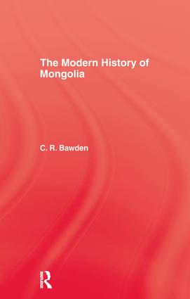 Modern History Mongolia Hb: 1st Edition (e-Book) book cover