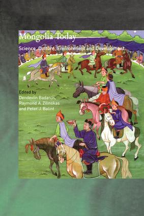 Mongolia Today: Science, Culture, Environment and Development (Hardback) book cover