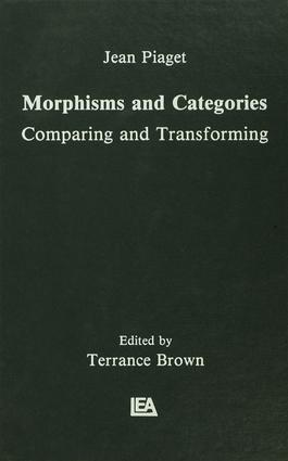 Morphisms and Categories: Comparing and Transforming, 1st Edition (e-Book) book cover