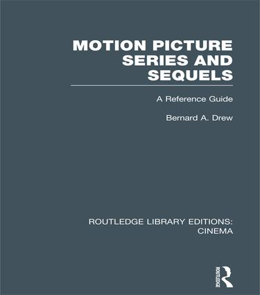 Motion Picture Series and Sequels: A Reference Guide book cover