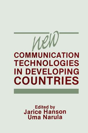 New Communication Technologies in Developing Countries (e-Book) book cover