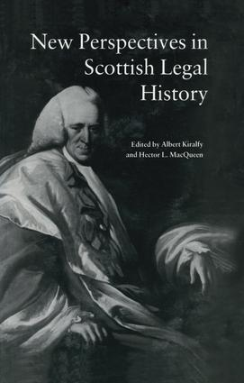 New Perspectives in Scottish Legal History
