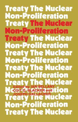 The Nuclear Non-proliferation Treaty (e-Book) book cover