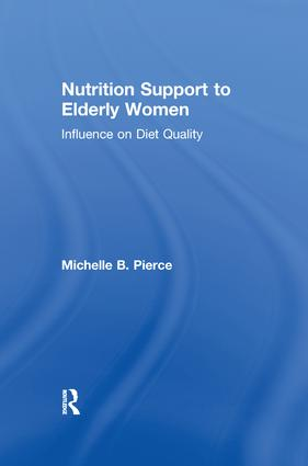 Nutrition Support to Elderly Women: Influence on Diet Quality book cover