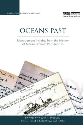 Oceans Past: Management Insights from the History of Marine Animal Populations book cover