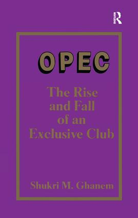 Opec: 1st Edition (Paperback) book cover