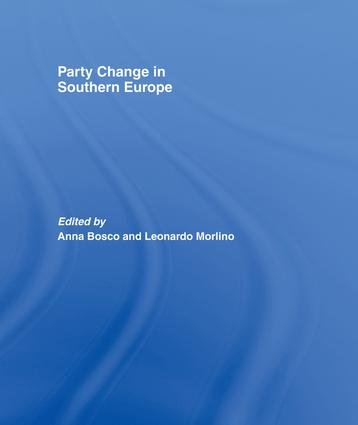 Party Change in Southern Europe book cover