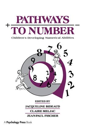 Pathways To Number: Children's Developing Numerical Abilities, 1st Edition (Paperback) book cover