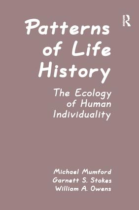 Patterns of Life History: The Ecology of Human Individuality book cover