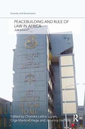 Peacebuilding and Rule of Law in Africa: Just Peace? book cover