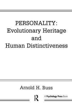 Personality: Evolutionary Heritage and Human Distinctiveness: 1st Edition (Paperback) book cover