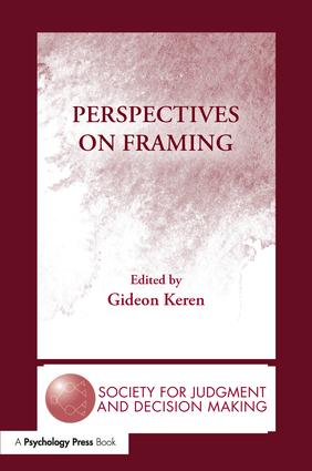 Perspectives on Framing: 1st Edition (Paperback) book cover