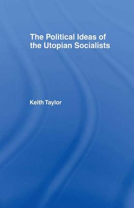 Political Ideas of the Utopian Socialists: 1st Edition (Paperback) book cover