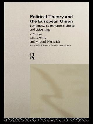 Political Theory and the European Union