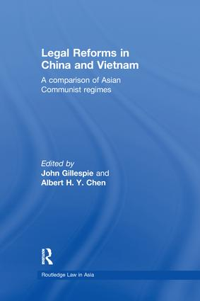 Legal Reforms in China and Vietnam