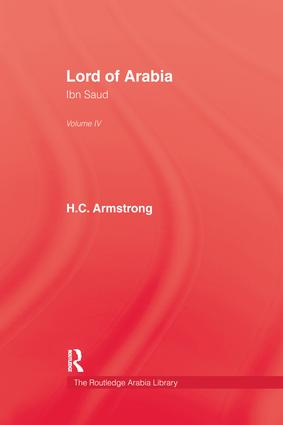 Lord Of Arabia V4: 1st Edition (Paperback) book cover