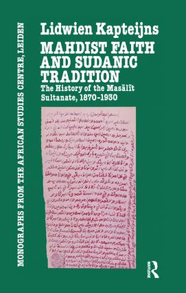 Mahdish Faith & Sudanic Traditio book cover