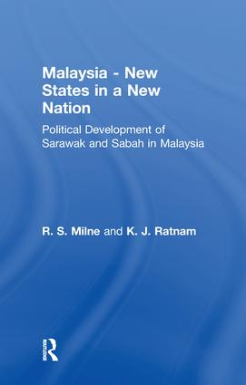 Malaysia: New States in a New Nation: New States in a New Nation, 1st Edition (Paperback) book cover