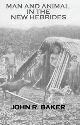 Man & Animals In New Hebrides