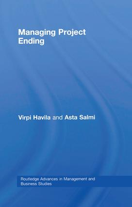 Managing Project Ending: 1st Edition (Paperback) book cover