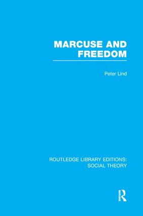 Marcuse and Freedom book cover