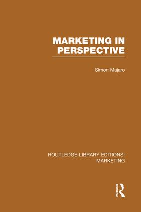 Marketing in Perspective (RLE Marketing) book cover
