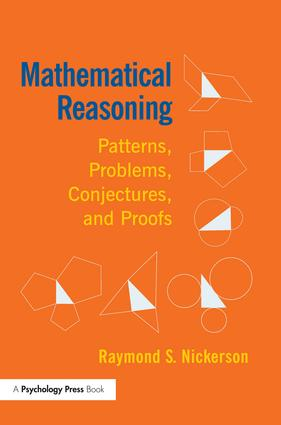 Mathematical Reasoning: Patterns, Problems, Conjectures, and Proofs, 1st Edition (e-Book) book cover