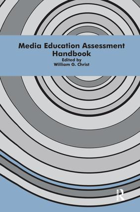 Media Education Assessment Handbook: 1st Edition (Paperback) book cover