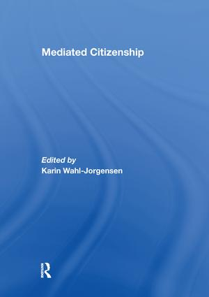 Mediated Citizenship: 1st Edition (Paperback) book cover