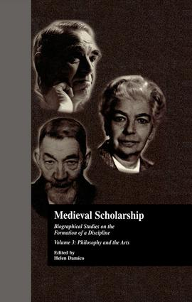 Medieval Scholarship: Biographical Studies on the Formation of a Discipline: Religion and Art book cover