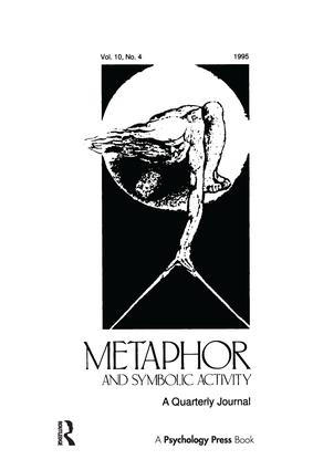 Developmental Perspectives on Metaphor: A Special Issue of metaphor and Symbolic Activity, 1st Edition (Hardback) book cover