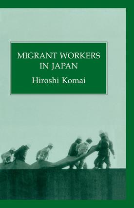 Migrant Workers In Japan: 1st Edition (Paperback) book cover