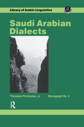 Saudi Arabian Dialects