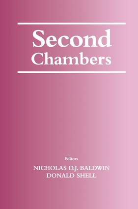 The Politics of Second Chamber Reform: A Case Study of the House of Lords and the Passage of the House of Lords Act 1999