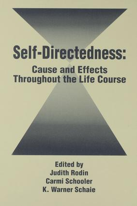 Self Directedness: Cause and Effects Throughout the Life Course, 1st Edition (Paperback) book cover