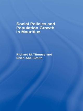 Social Policies and Population Growth in Mauritius: 1st Edition (Paperback) book cover