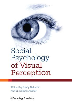 Social Psychology of Visual Perception: 1st Edition (Paperback) book cover
