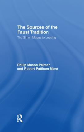 Sources of the Faust Trad Cb: 1st Edition (Paperback) book cover