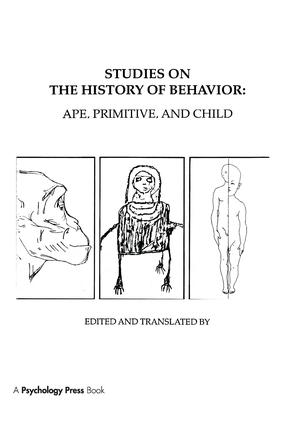 Studies on the History of Behavior