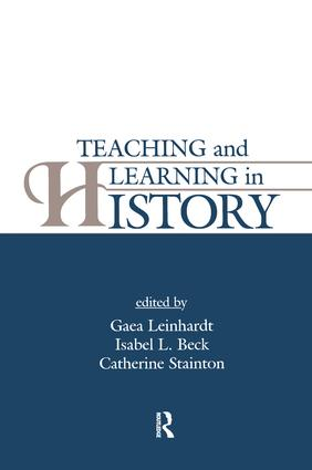 Teaching and Learning in History: 1st Edition (Paperback) book cover