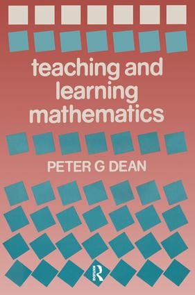 Teaching and Learning Mathematics: 1st Edition (Paperback) book cover