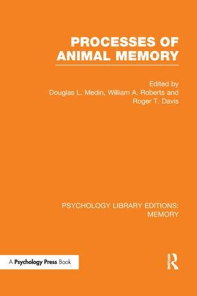 Processes of Animal Memory (PLE: Memory) book cover