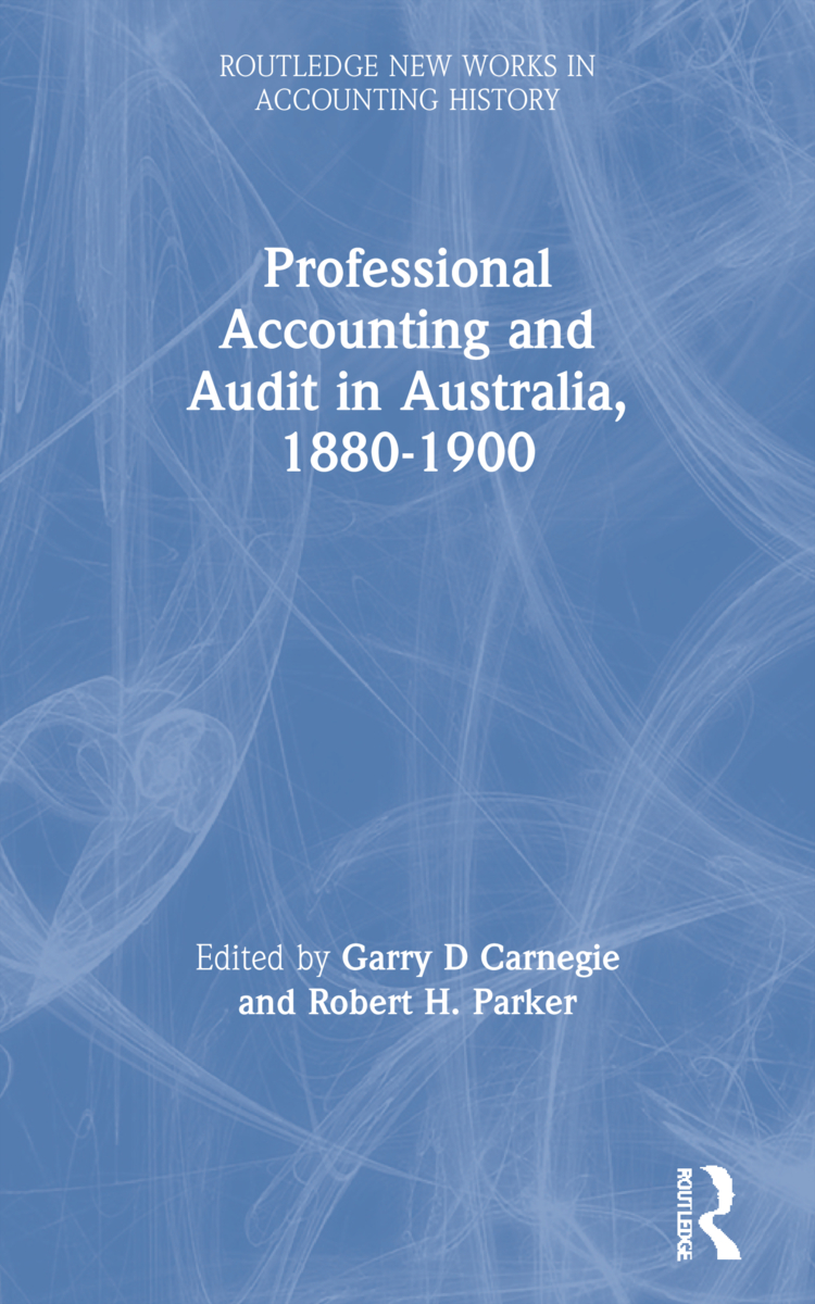 Professional Accounting and Audit in Australia, 1880-1900 book cover