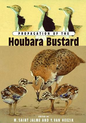 Propagation Of The Houbara Bustard: 1st Edition (Paperback) book cover