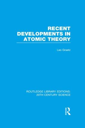 Recent Developments in Atomic Theory book cover