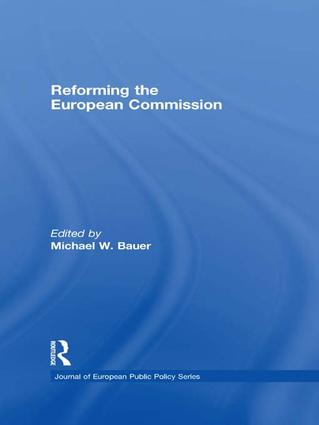 Reforming the European Commission: 1st Edition (Paperback) book cover