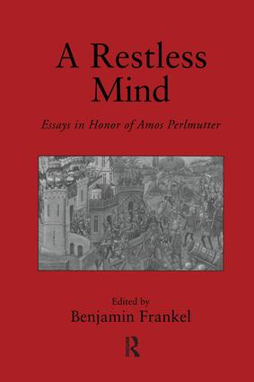 A Restless Mind: Essays in Honor of Amos Perlmutter, 1st Edition (Paperback) book cover
