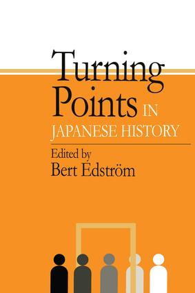 Turning Points in Japanese History: 1st Edition (Paperback) book cover