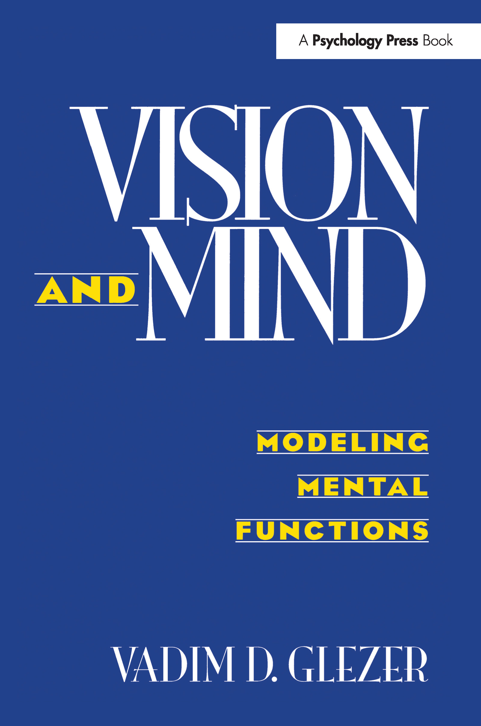 Vision and Mind: Modeling Mental Functions book cover